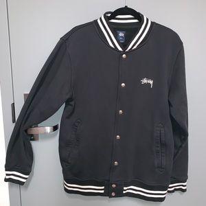 Stussy Button up bomber jacket